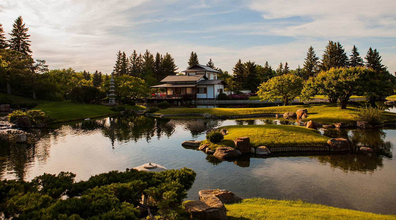 Nikka Yuko Japanese Garden in Lethbridge, Alberta