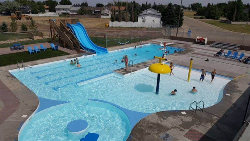 Vauxhall Outdoor Pool In Md Of Taber Alberta